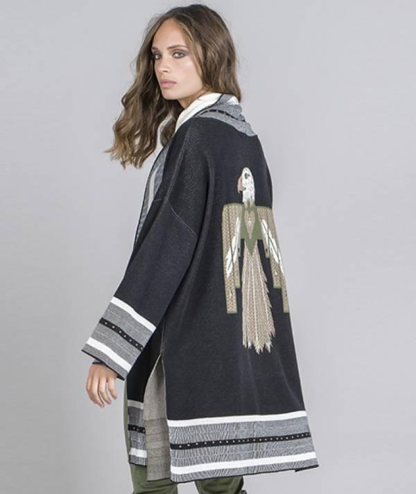 Casaco kimono...