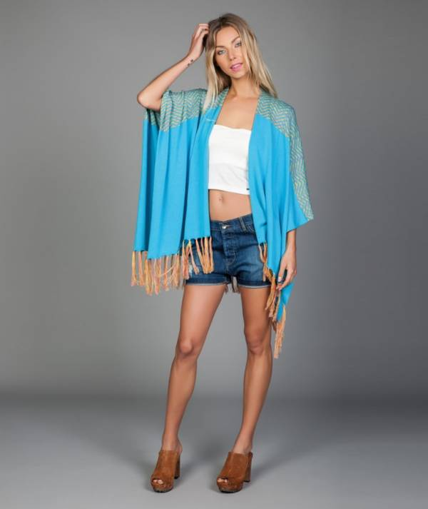 Poncho with...