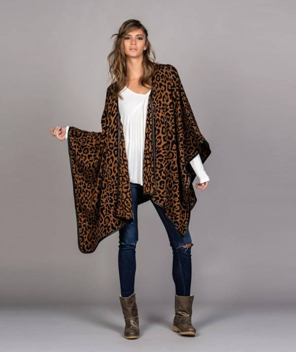 Cape with leopard...