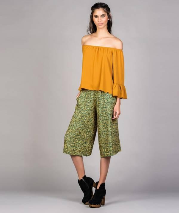 Culotte pants...