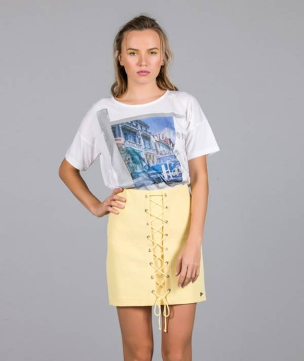 Skirt with string