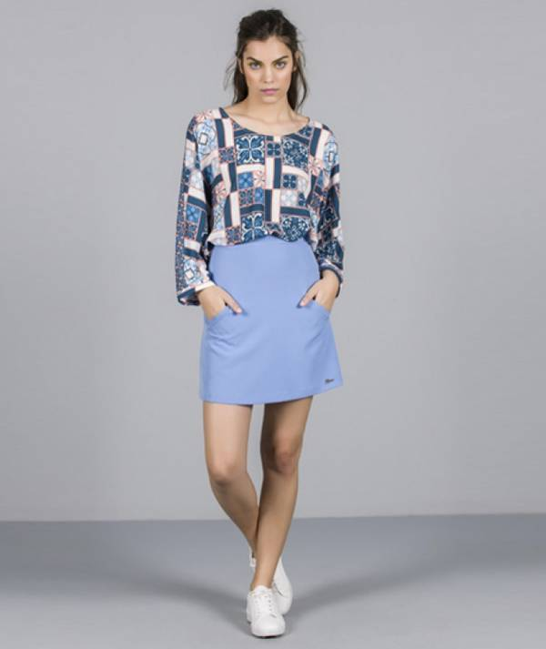 Skirt with pockets