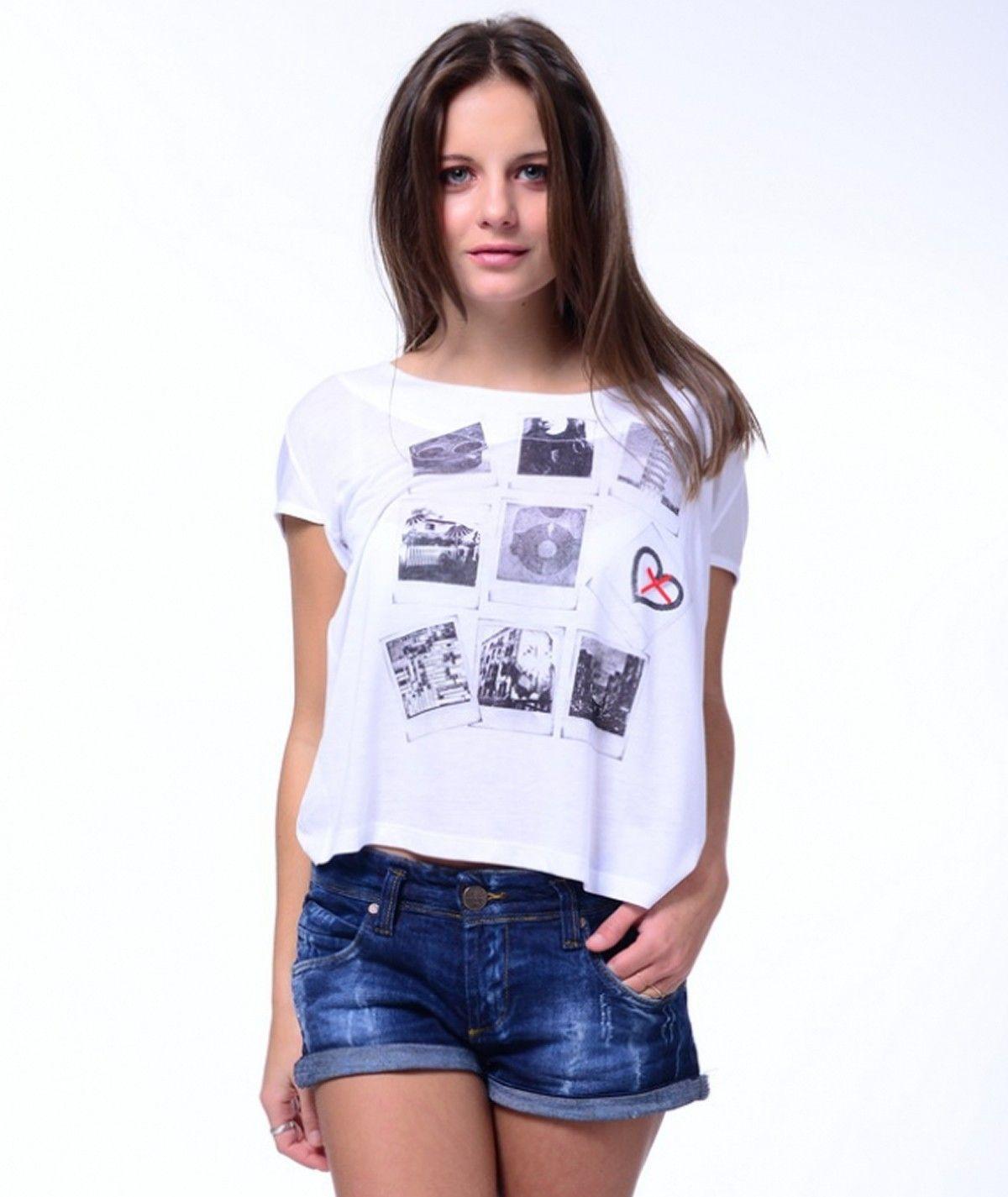 Short sleeved t-shirt for...