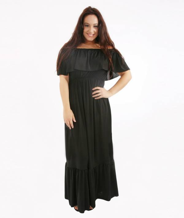 Long dress with...