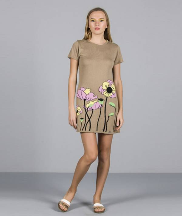 Dress with floral...