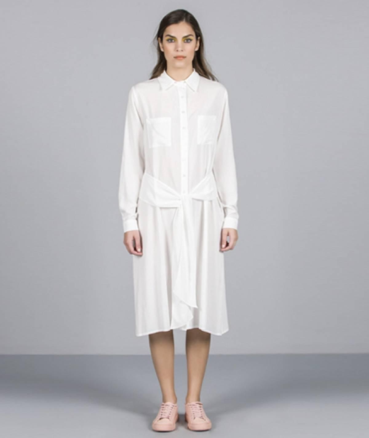 [CHIESSY] Vestido camiseiro