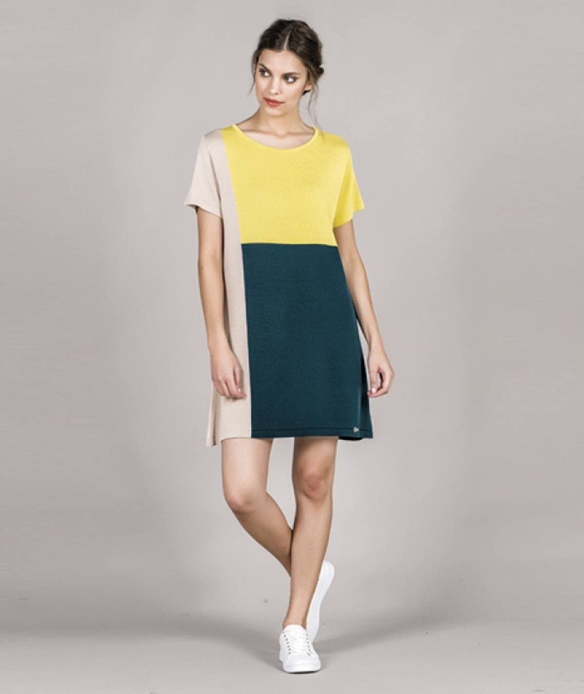 [CHIESSY] Vestido três cores