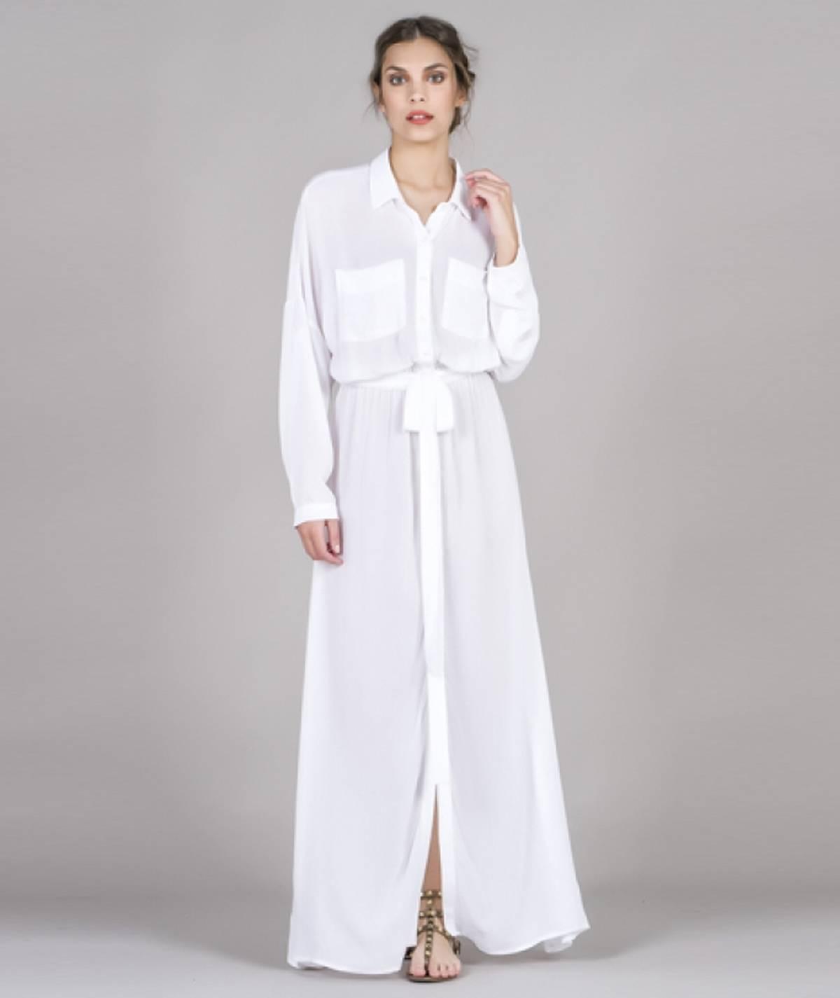 [CHIESSY] Vestido comprido...