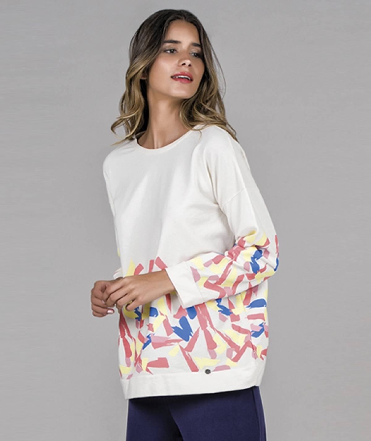 Sweater estampada