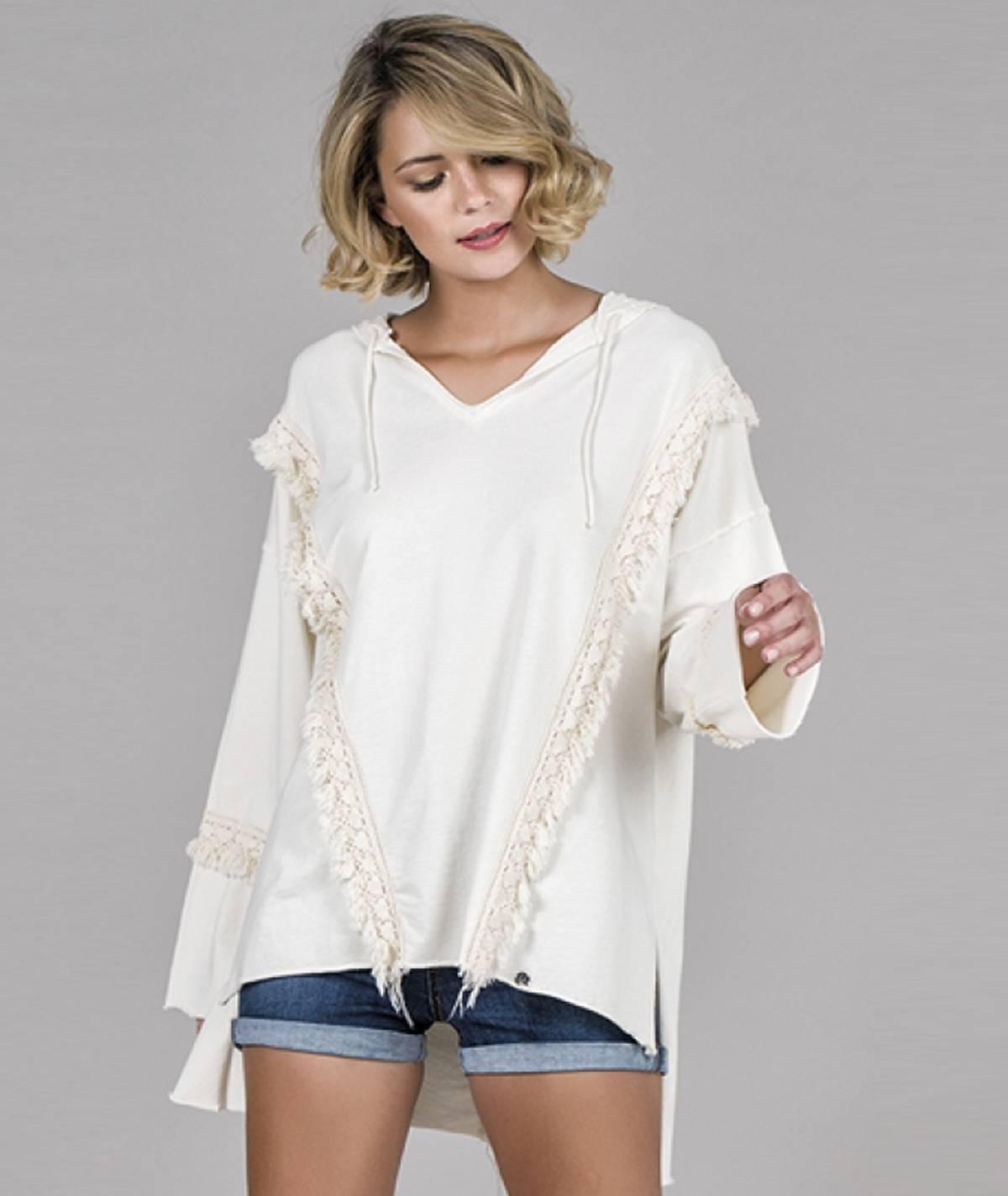Sweater franjas