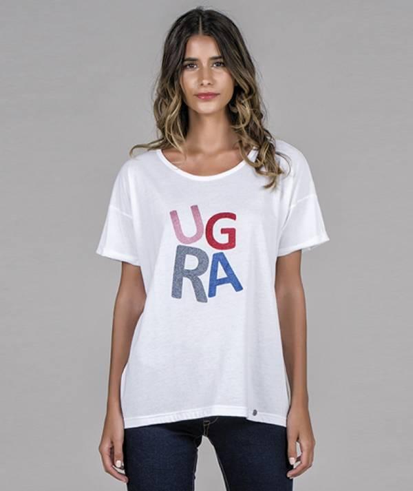 T-shirt with RÜGA...