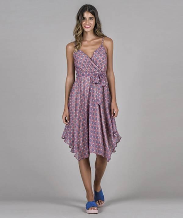 Dress with boho...