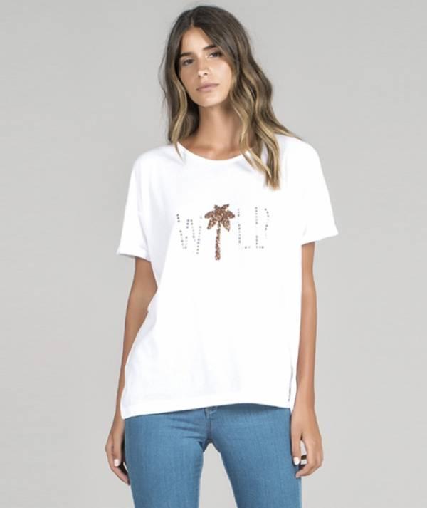 T-shirt motivo wild