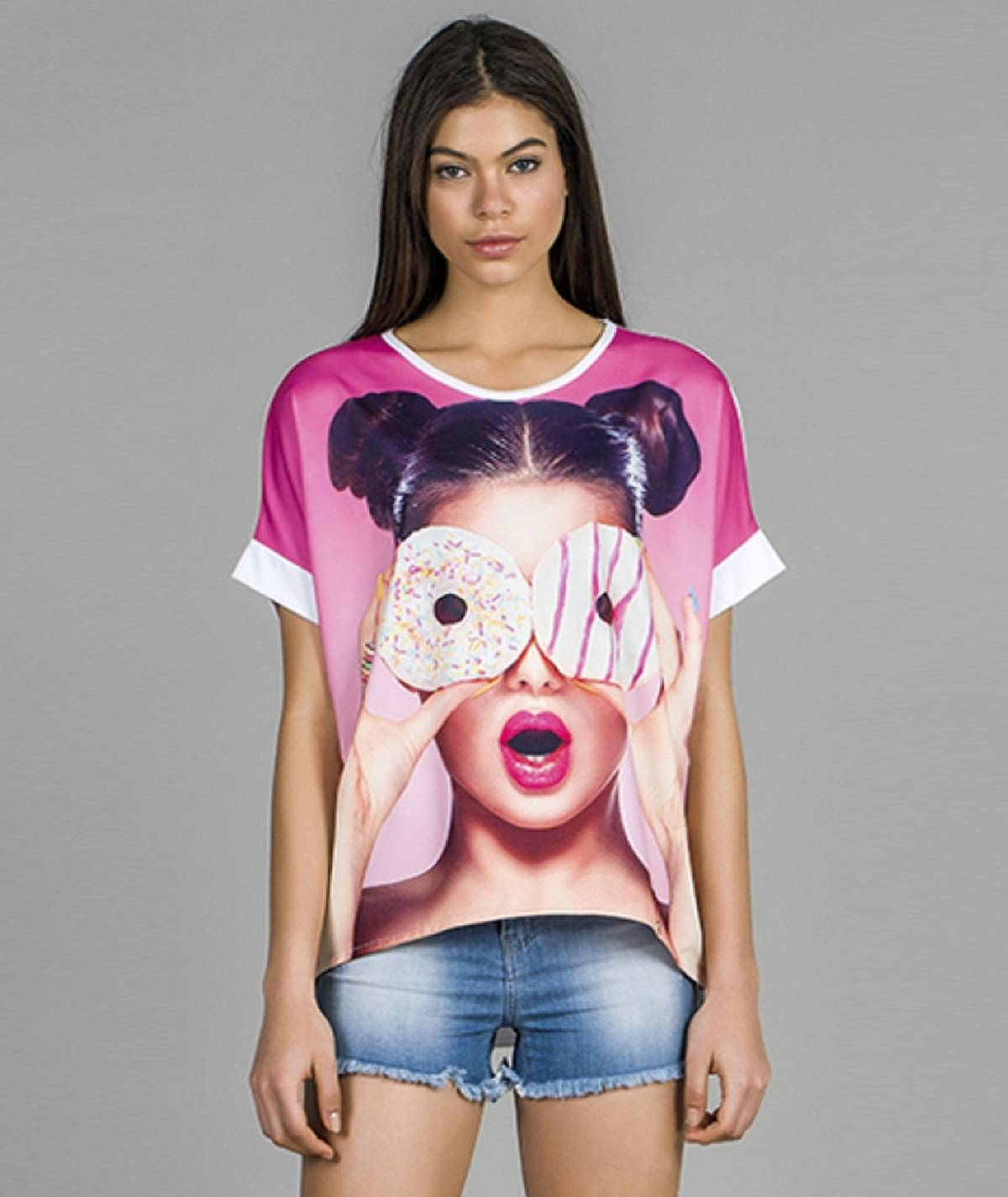 T-shirt motivo donuts