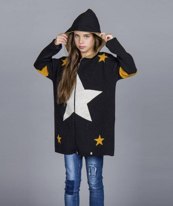 Jacket with stars...