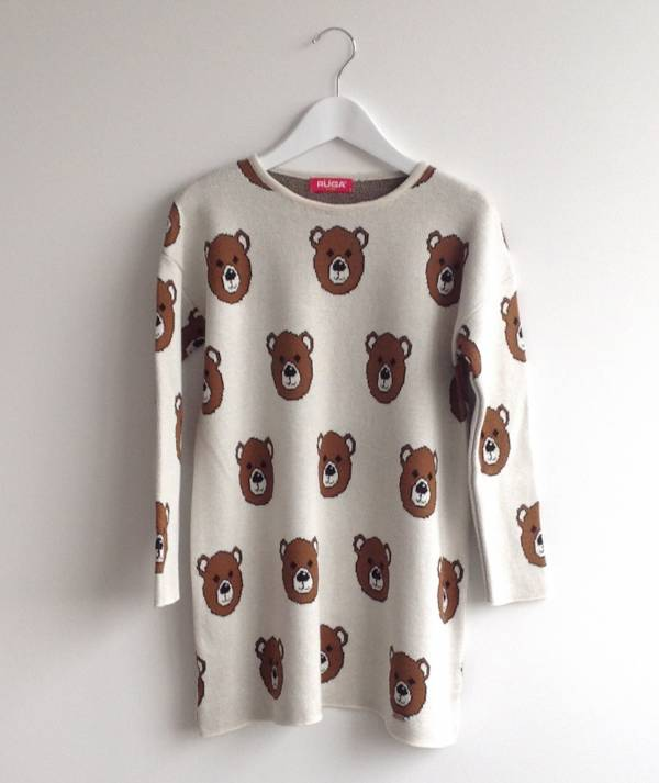 Dress with bears...