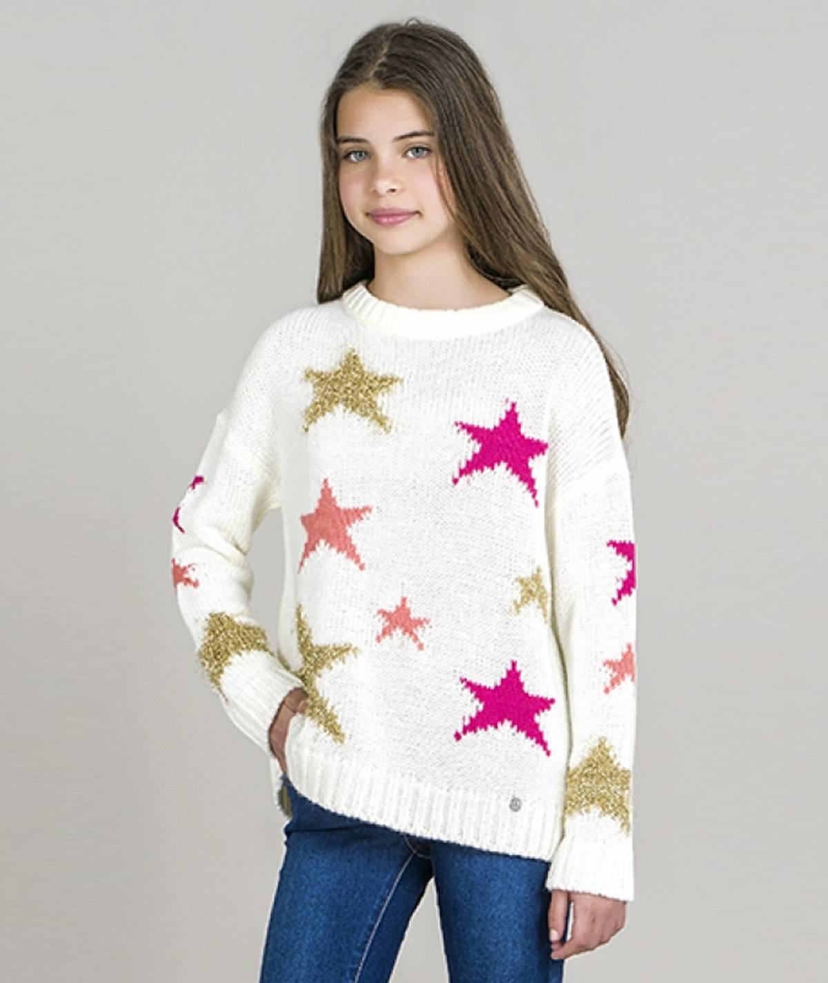 Camisola  motivo estrelas