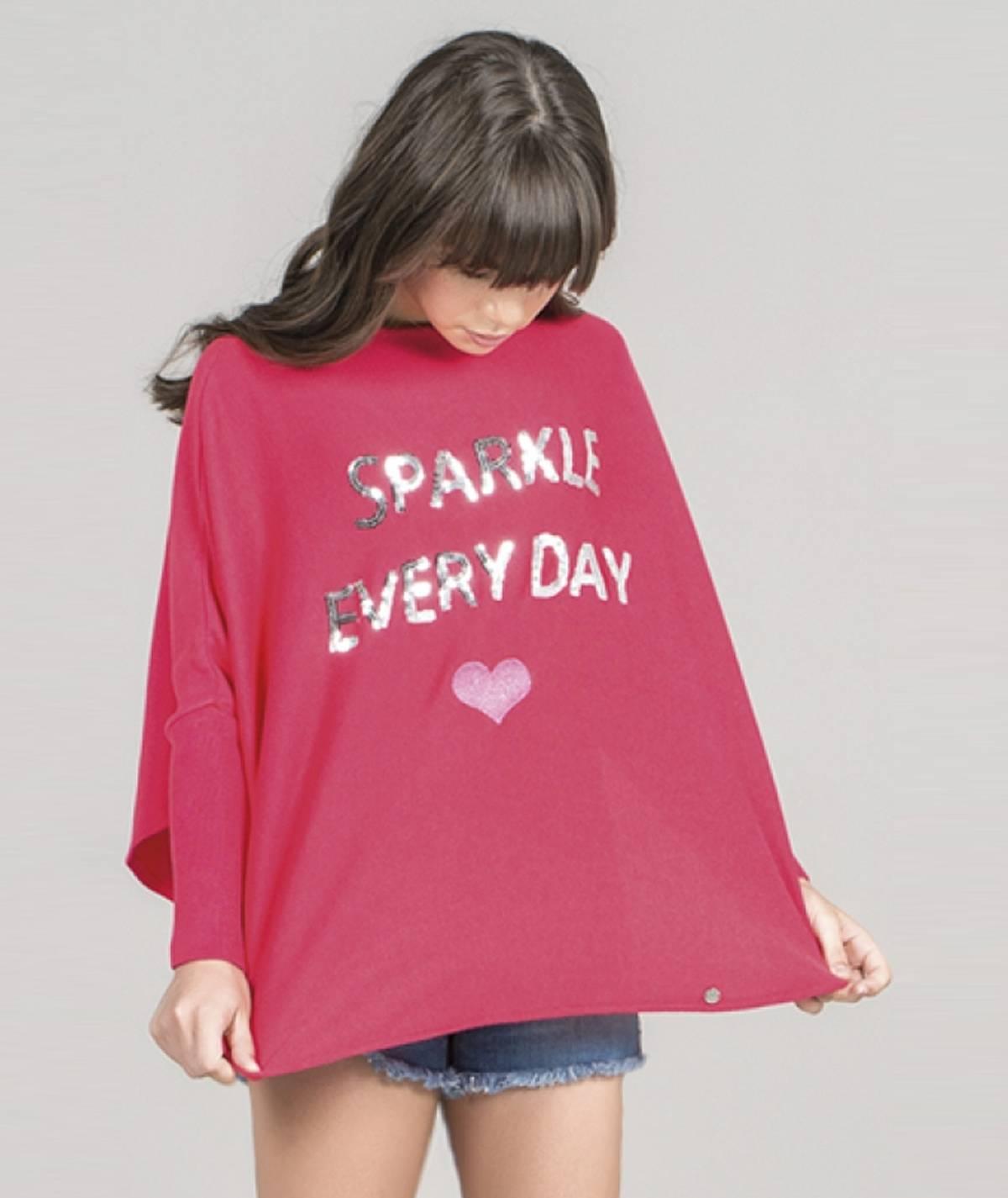 Camisola motivo sparkle kids