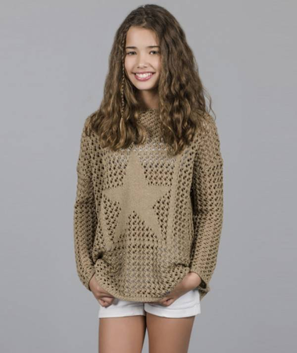 Sweater with star...