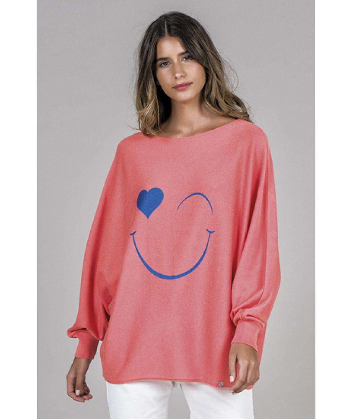 Camisola motivo smile