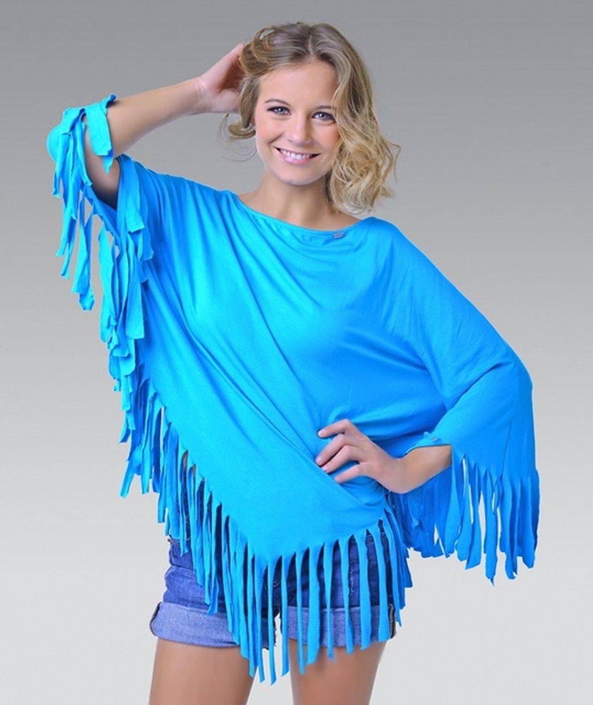 Fringed tunic for women