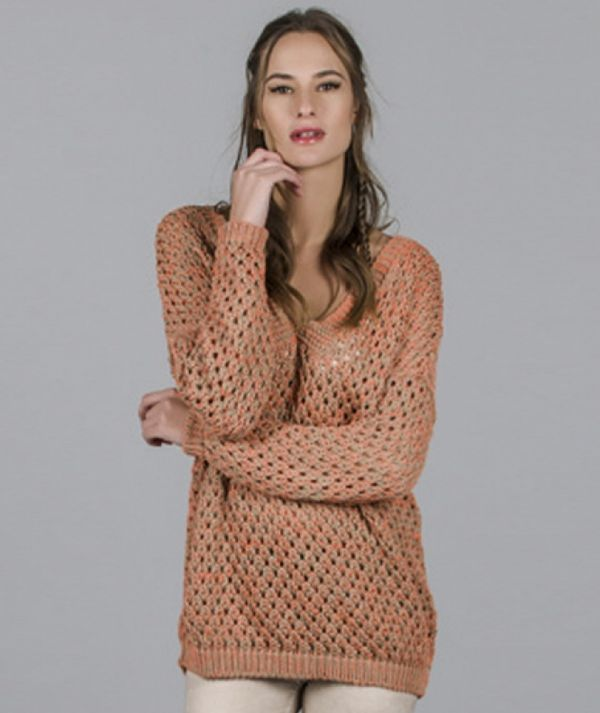 Perforated tunic
