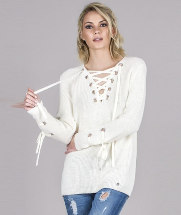 Tunic with V-neck