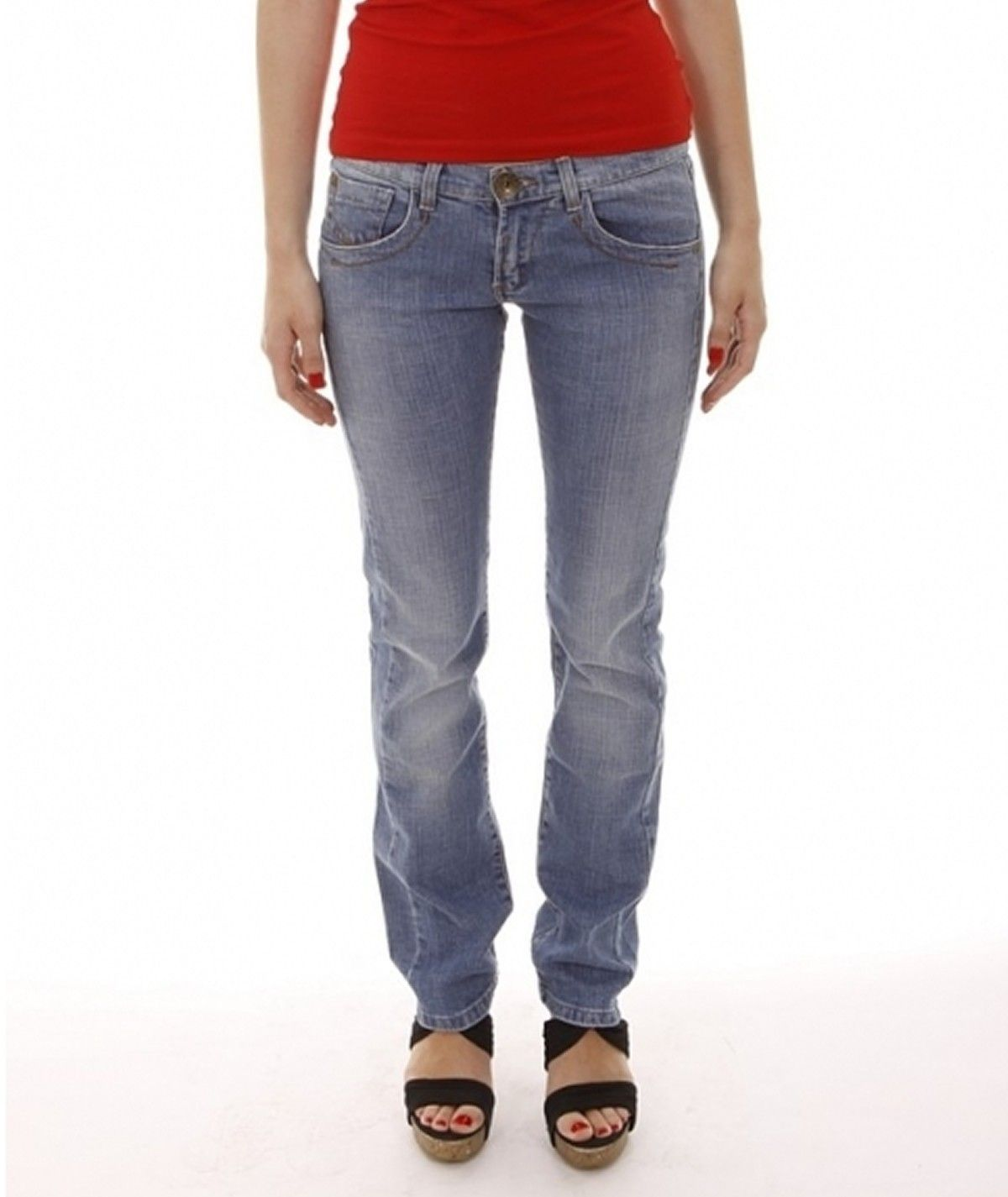 Jeans com bordado