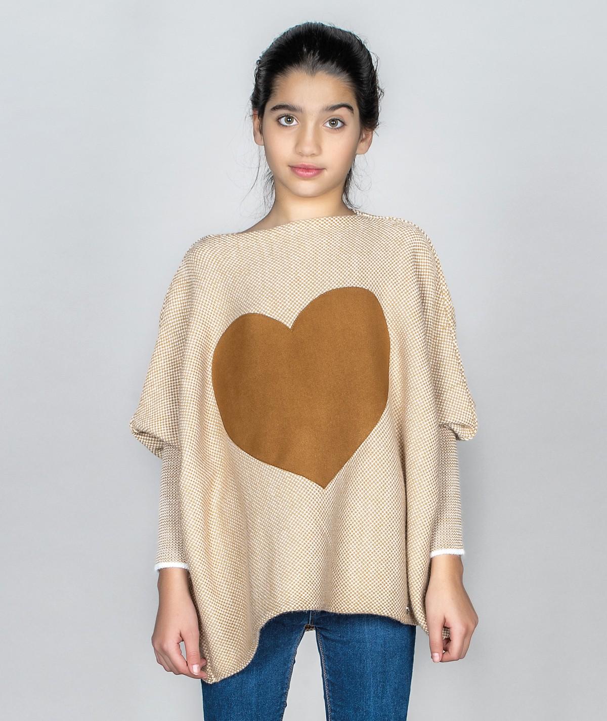 Camisola com coração