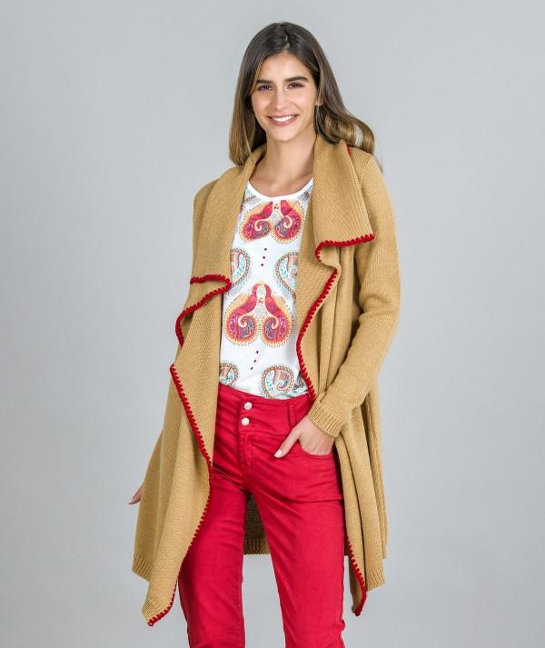 Rustic cardigan