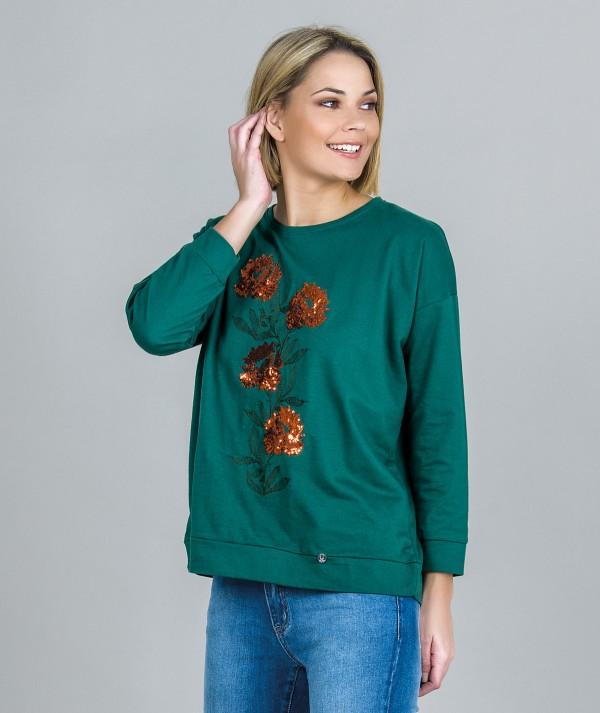 Sweater motivo...