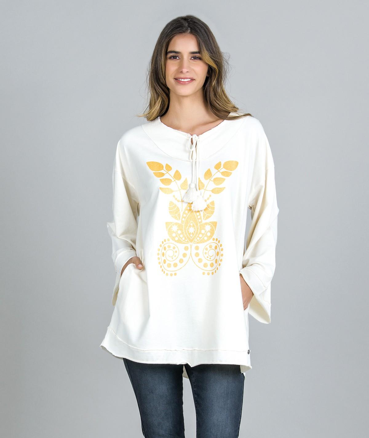 Sweater Motivo Étnico...