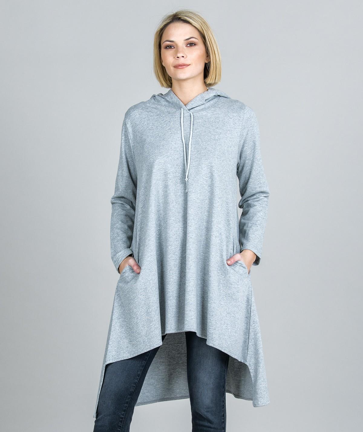 Sweater Assimétrica com...