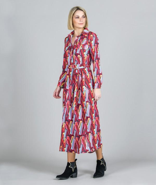 Dress with urban...