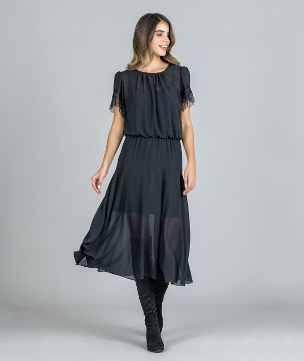Vestido mousseline