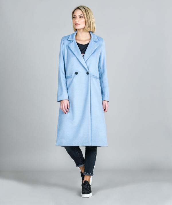 Crossed coat