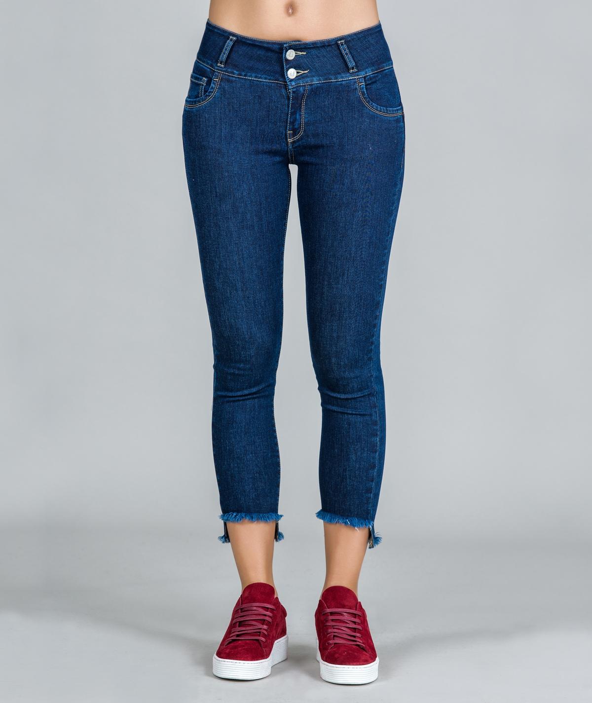 Jeans Push-up com coração...