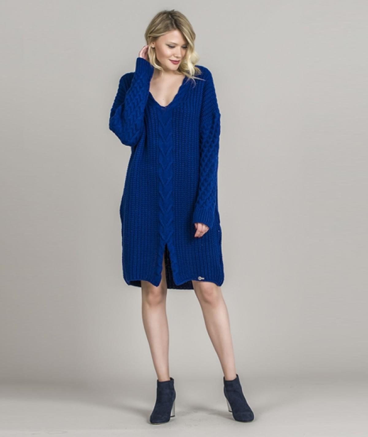 [CHIESSY] Vestido oversize