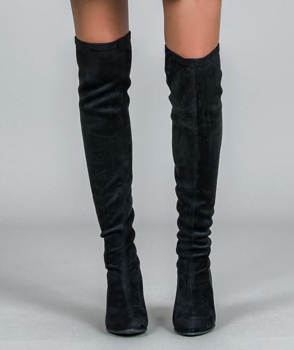 Elastic high boots