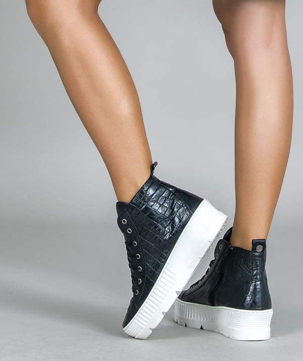 Croco Boot Sneakers