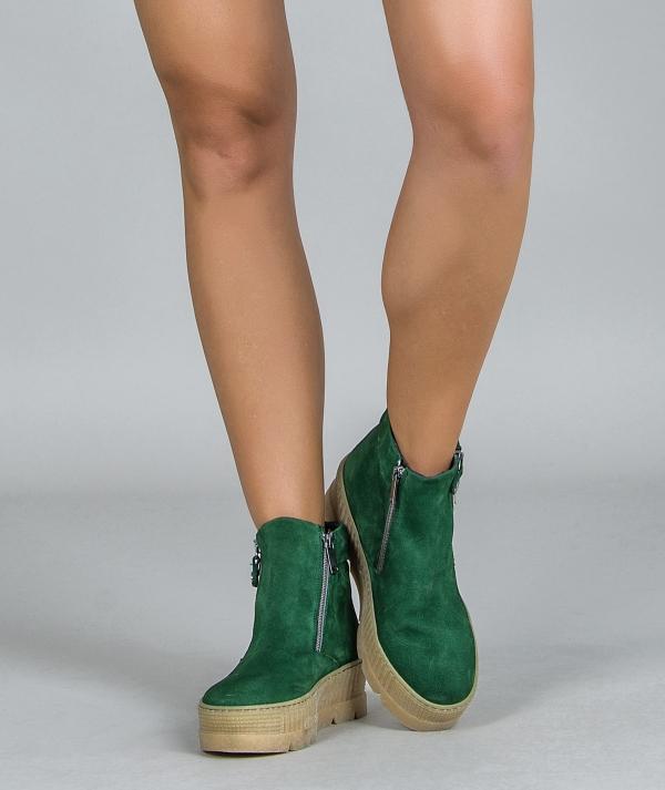 Nobuck boots