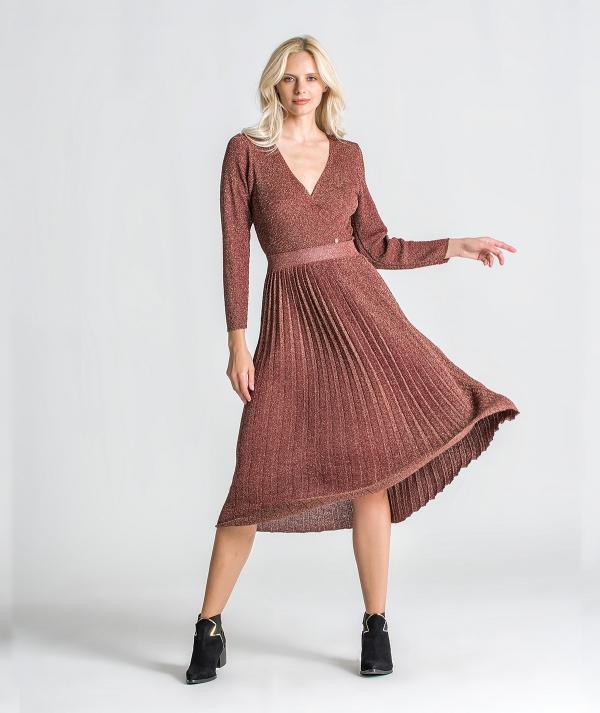 Crossed dress