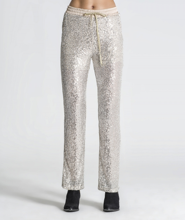 Sequin trousers