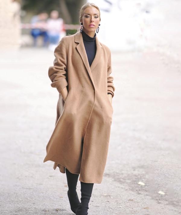 Overcoat with...