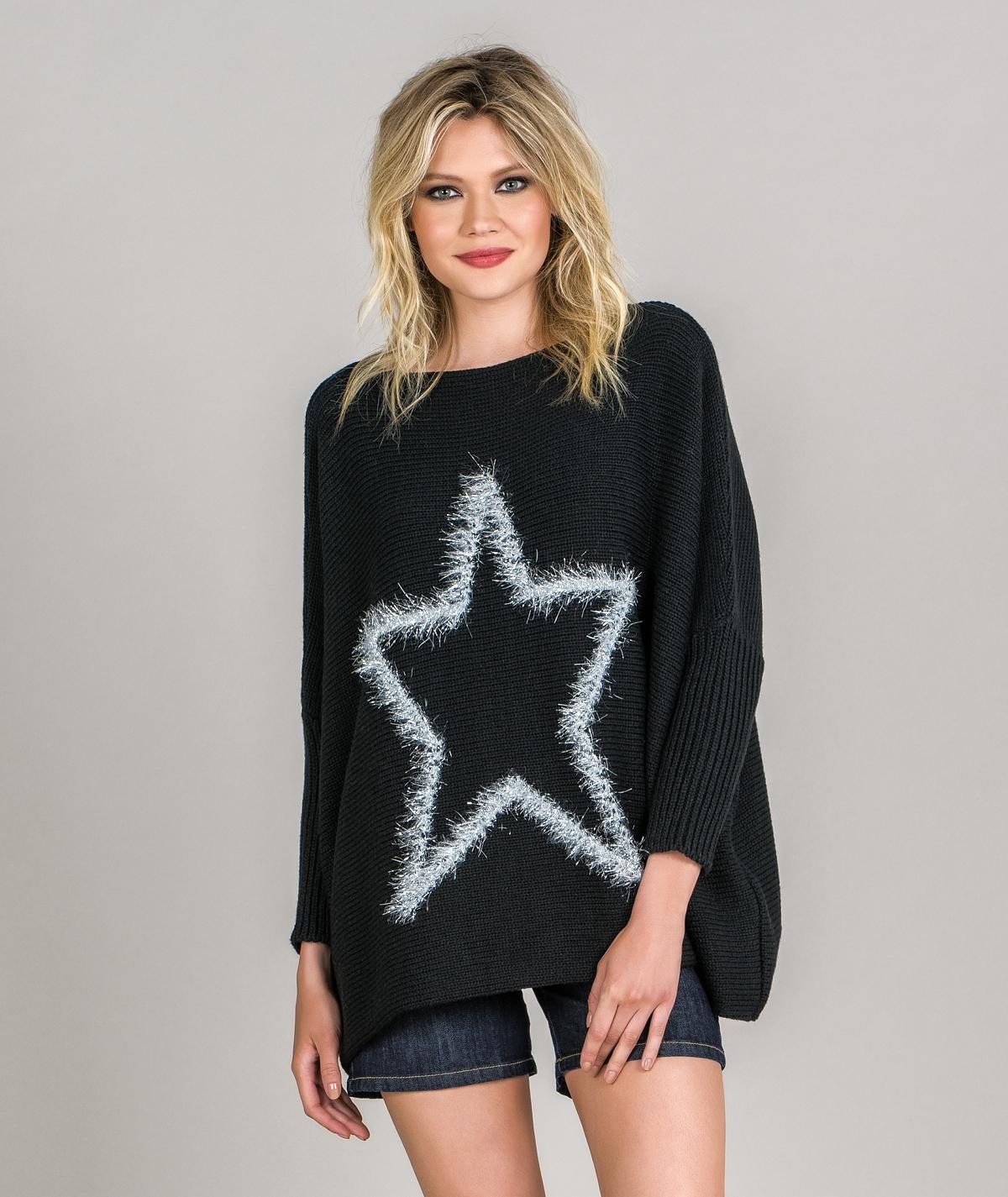 Camisola motivo estrela