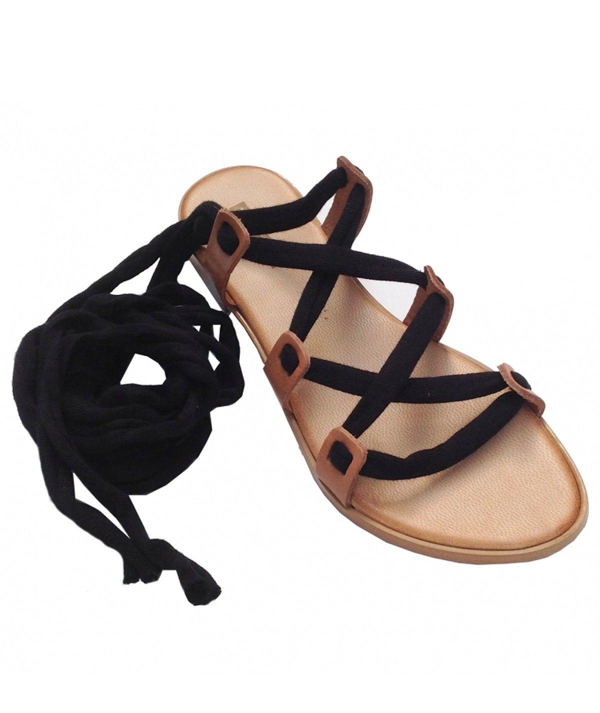 Sandálias rasas estilo...