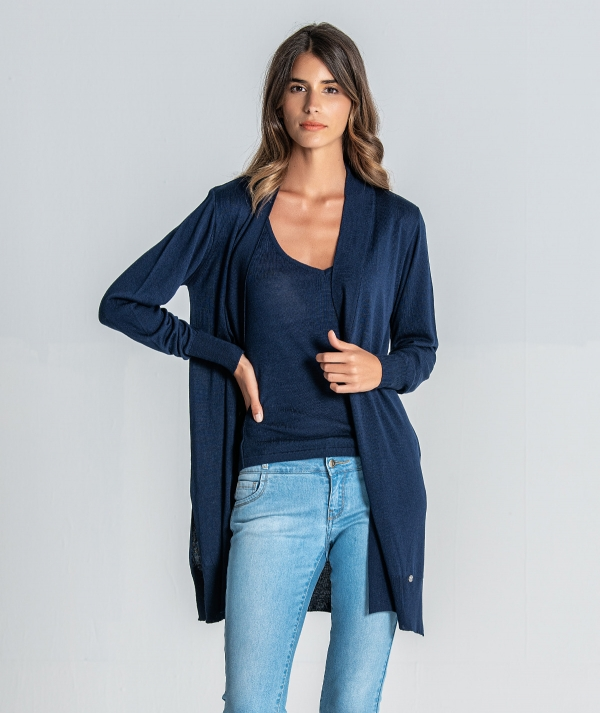 Long basic jacket