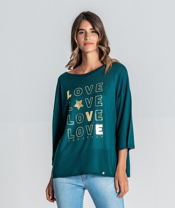 Camisola motivo love