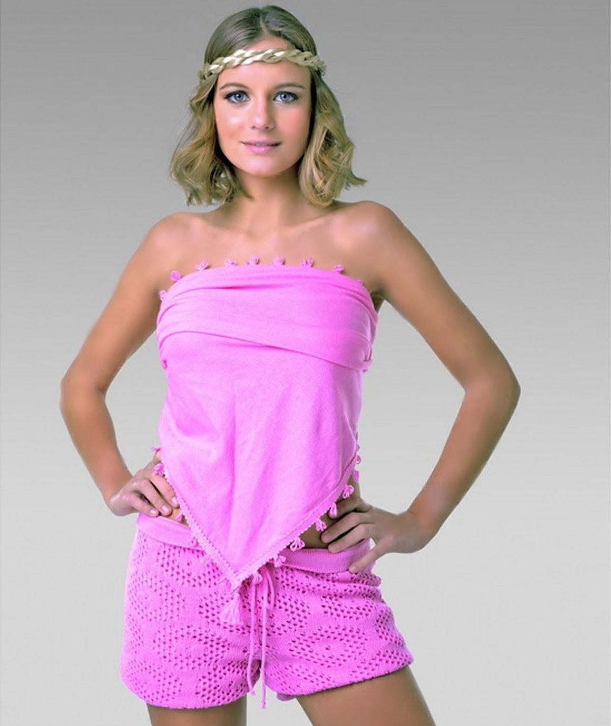 Womens knit shorts