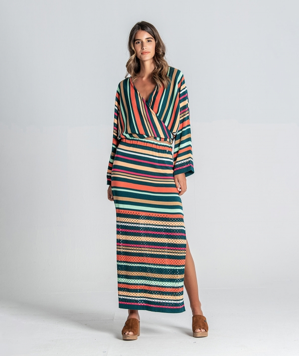 Long striped and...